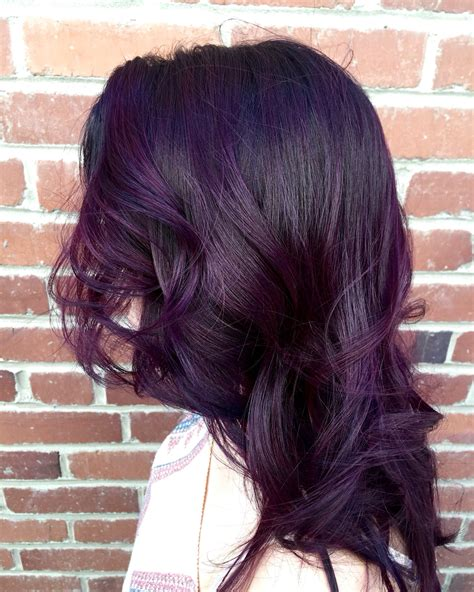 black violet hair color cvkefacee instagram cvkeface pinteres