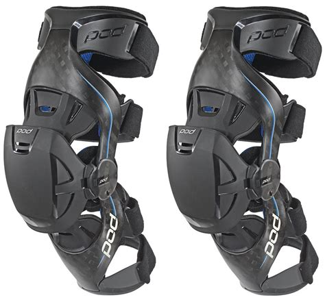 $759.95 POD K8 Carbon Fiber Knee Braces Pair #199737