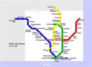 Lisbon Subway Map by Lisbon Metro Map Metro Maps Pinterest