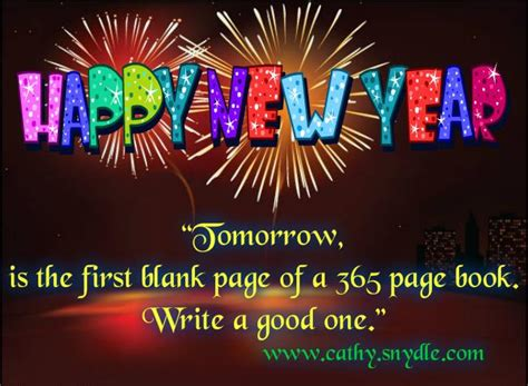 happy new year quotes and sayings cathy