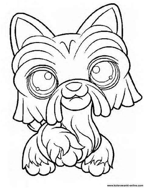 lps coloring pages dog kolorowanki littlest pet shop lps strona 1