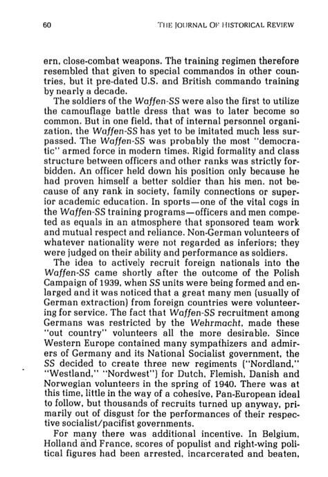 Air Commando Association Award Essay by Richard Landwehr The European Volunteer Movement In World War Ii