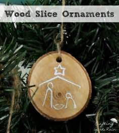 how to make wooden ornaments craftaholics anonymous 174 diy wood slice ornaments