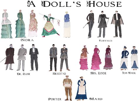a dolls house characters actors log book evaluation