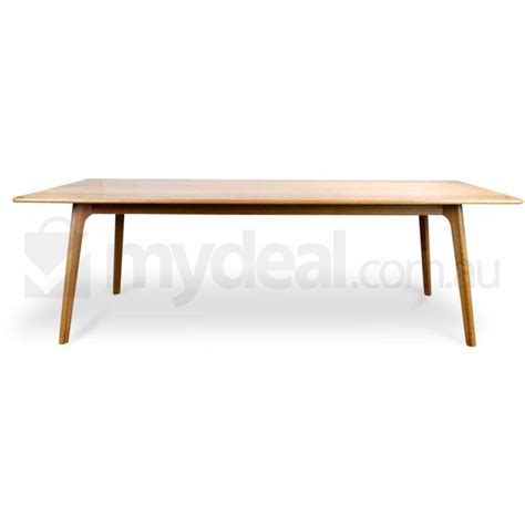 M S Dining Tables Oak Dining Table 2 4m Scandinavian Buy Dining Tables