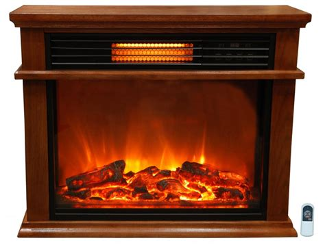 lifesmart easy set 1000 square foot infrared fireplace