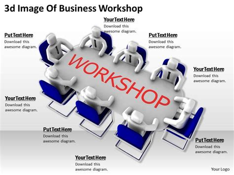 ppt templates for workshop free download 3d image of business workshop ppt graphics icons
