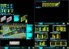 bookstore design  equipments  dwg detail  autocad