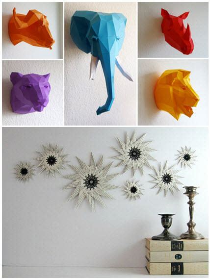 Origami Home Decor - colorful folds for your home decor origami sevenedges