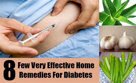 8 few effective home remedies for diabetes diy find