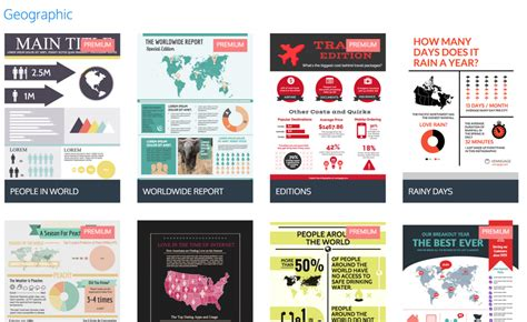 9 types of infographic templates venngage