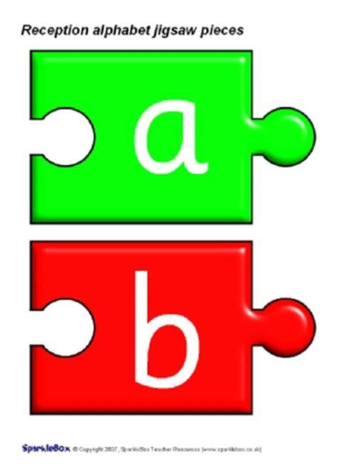 printable alphabet letters sparklebox alphabet phonics jigsaw pieces sparklebox