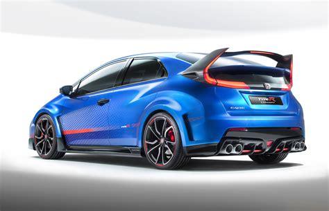 honda type r 2016 honda reveals bonkers 2016 civic type r ii concept driving
