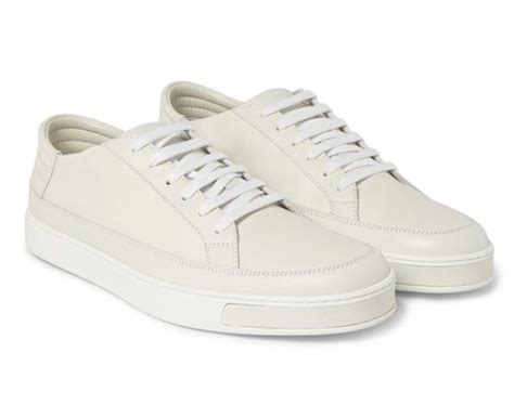 all white leather sneakers gucci leather low top sneakers all white freshness mag
