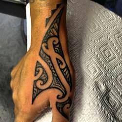 best 10 tribal hand tattoos ideas on pinterest simple
