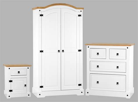 white distressed bedroom set corona white distressed pine bedroom set one stop furniture shop