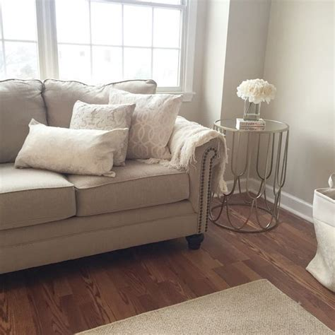 beige couch what color walls cozy living room warm beige and whites paint color