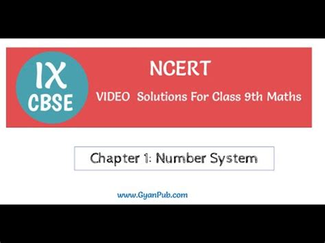 ncert history book in for class 9th ncert solutions for class 9th maths chapter 1 number
