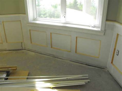 Wainscoting Around Windows Wainscoting In The Basement Part 15 Woodchuckcanuck