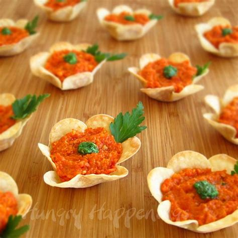 easy bridal shower finger foods flower crisps appetizers hungry happenings easter recipes