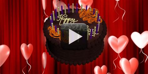 happy birthday animation video free download all design
