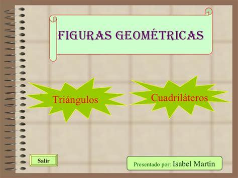 figuras geometricas cuadrilateros triangulos y cuadrilateros