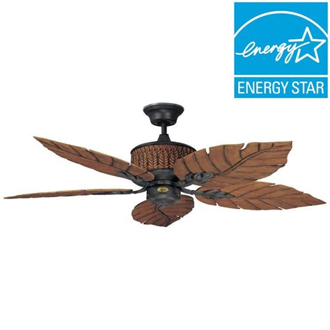 rustic ceiling fans home depot concord fans concord 52 in indoor outdoor rustic iron