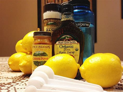 Lemon And Maple Syrup Detox by Maple Syrup And Lemon Juice Detox Recipe