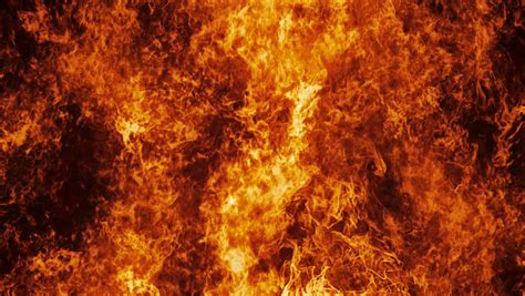 Inferno Wall L by Inferno Wall In Motion With Seamless Loop Isolated Stock Footage 12835802