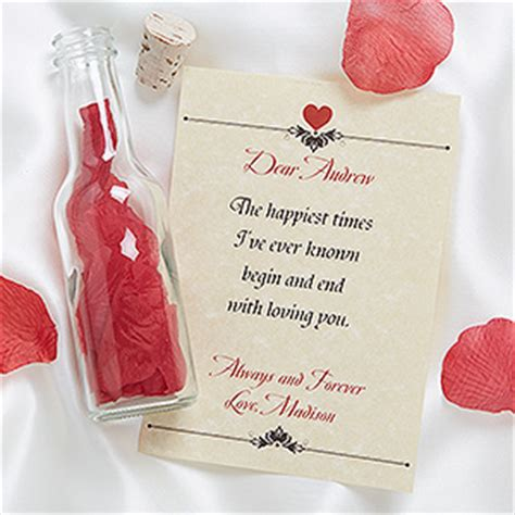 valentine day special gifts to amaze your sweetheart love letter in a bottle romantic personalized gifts