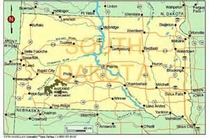 South Dakota State Map by South Dakota Related Keywords Amp Suggestions South Dakota