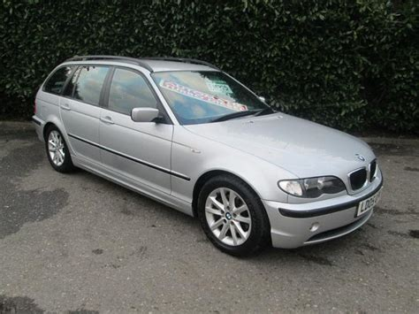 bmw 3 series estate for sale uk used bmw 3 series 2005 model 320d es 5dr diesel estate