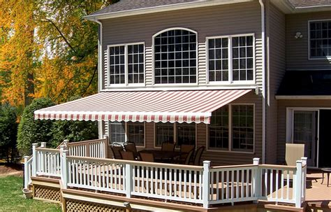 How To Attach Awning To House by Retractable Shade Awnings Landscaping Network