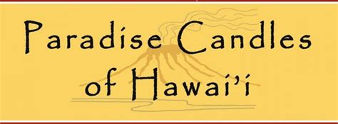 Pch Hawaii - paradise candles of hawai i