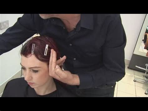 how to do a finger wave on a twa how to do a finger wave youtube