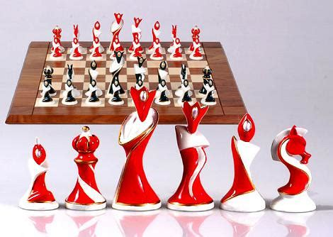 interesting chess sets unusual and interesting chess set designs