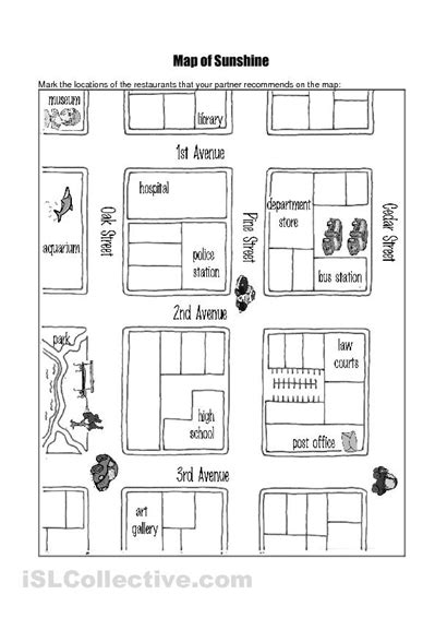 printable worksheets giving directions 14 best images of follow directions worksheets for