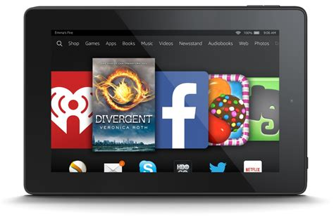 amazon kindle fire amazon kindle fire hd 6 tablet wi fi front rear cameras 8