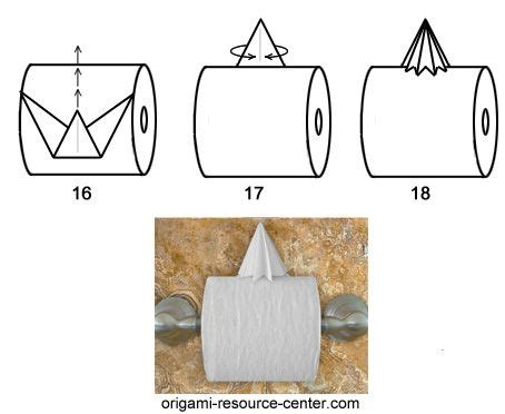 Make Your Toilet Paper Chic With Origami by 25 Best Ideas About Toilet Paper Origami On