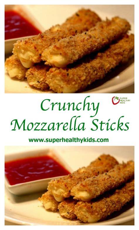 Premium Mozza Kid crunchy mozzarella sticks recipe healthy ideas for