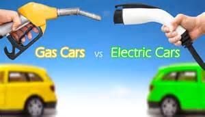 Electric Car Vs Gasoline Car Electric Cars Vs Gas Cars Int3ger