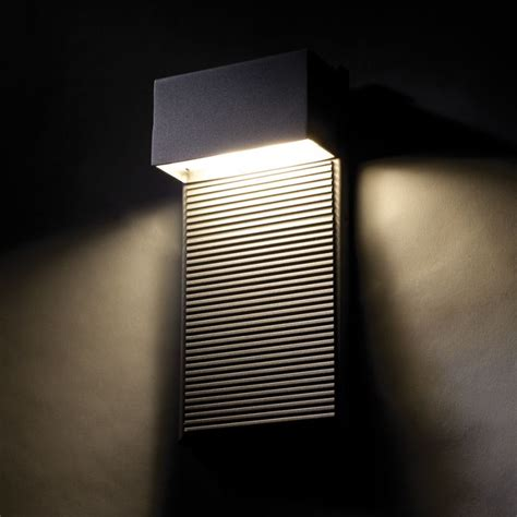 elevation indoor outdoor led wall modern forms ws w2308 bk black hiline 8 quot indoor outdoor