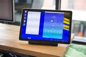 galaxy tab s4 review even samsung s dex desktop can t save android tablets ars technica