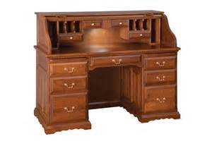 rolltop desks amish deluxe roll top desk