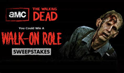 Walkingdead Com Sweepstakes - blogs the walking dead want to be a zombie enter amc s the walking dead