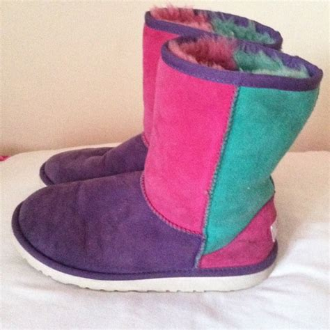 multi colored uggs ugg multi color ugg from s closet on poshmark