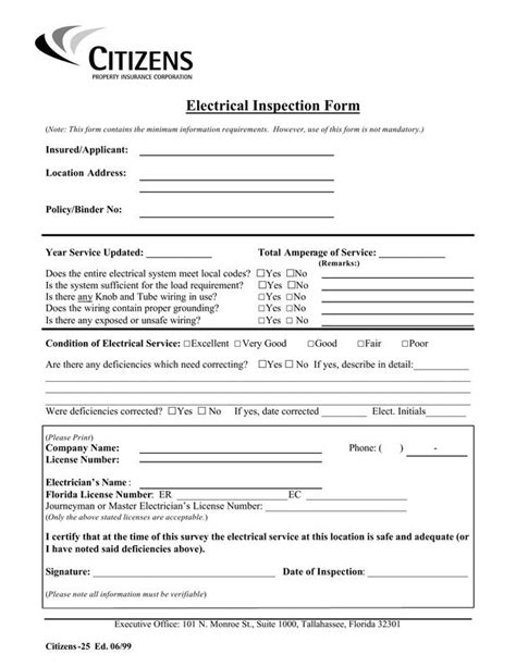 buying a house electrical inspection home inspection form free printable home inspection checklist pdf from vertex42 com