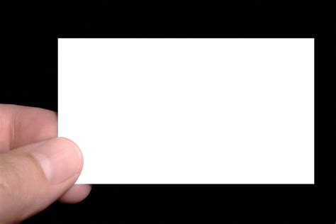 upload image to a blank business card template page free business card blank stock photo freeimages