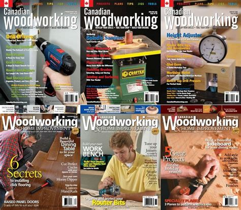 canadian woodworking home improvement 58 63 2009