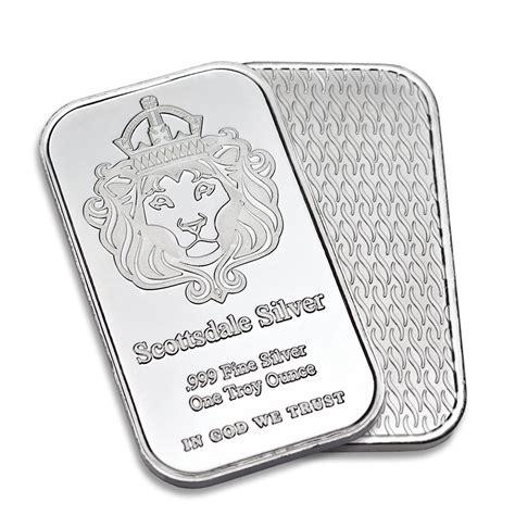 1 oz silver bar scottsdale 1oz silver bar one ounce 999 silver